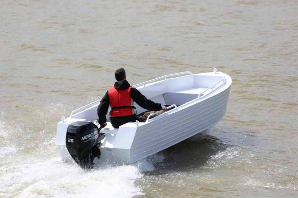 Моторная лодка Trident 450