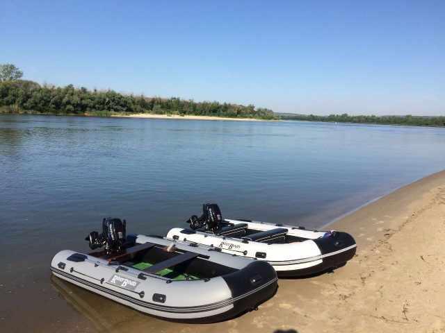 Гребно-моторные Лодки RiverBoats