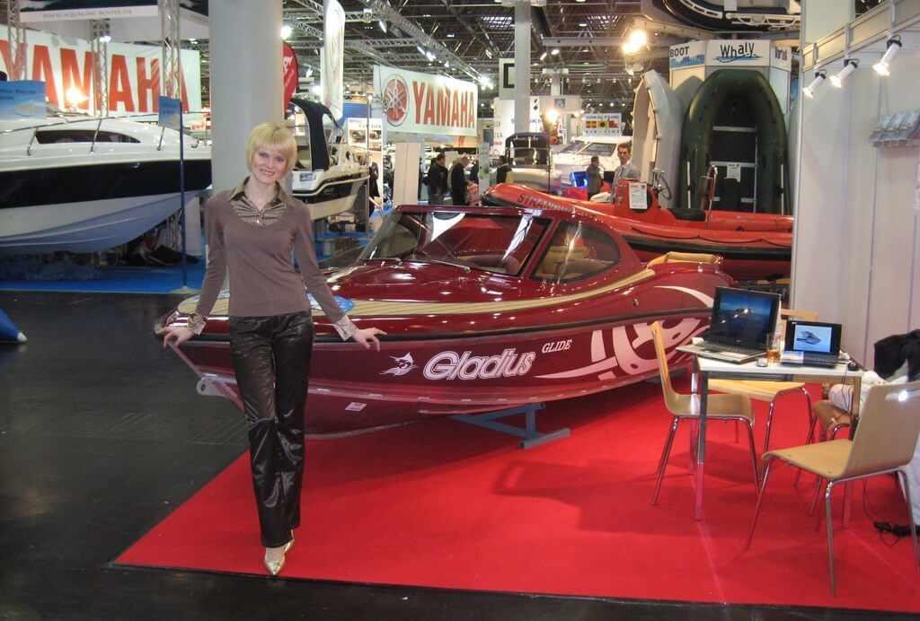 Моторная лодка Gladius Glide