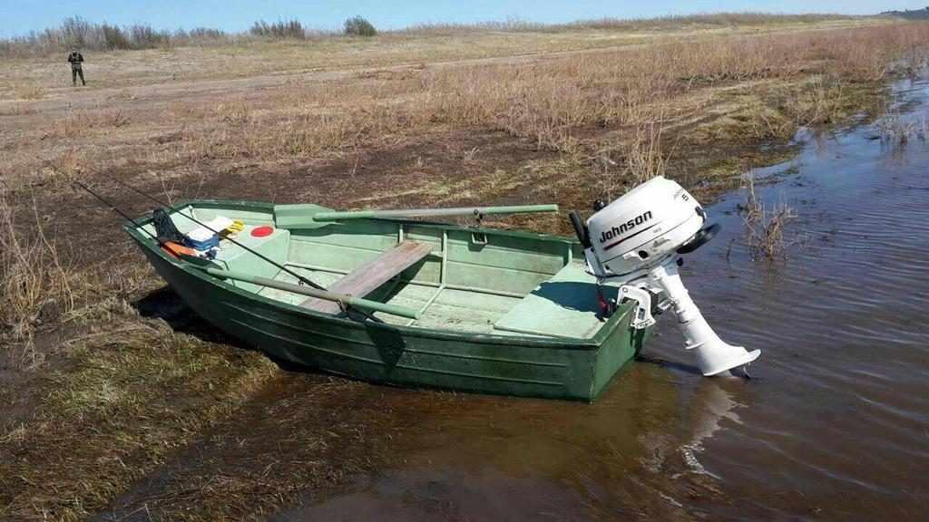 Дюралевая лодка Нева