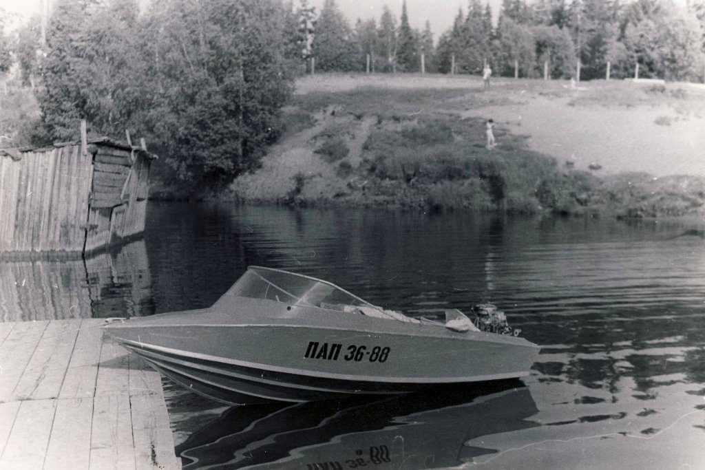 Лодка Радуга-34