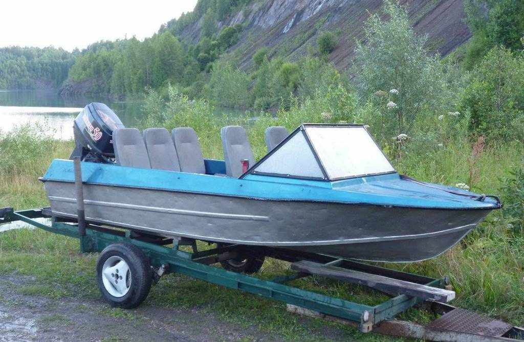 Алюминиевая лодка Крым