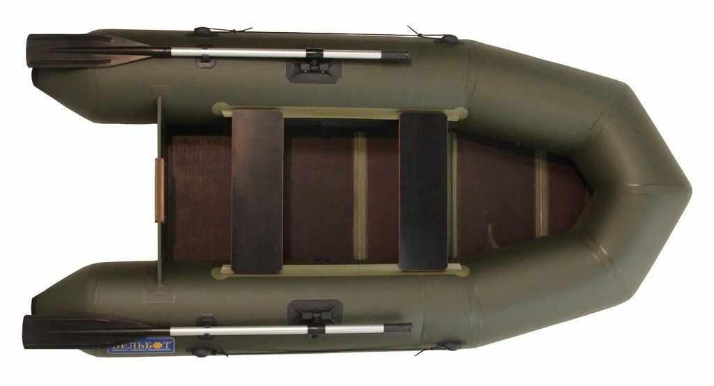 Лодка ПВХ «Вельбот Вуд-2МУ»