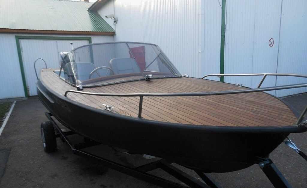 Тюнинг катера Амур