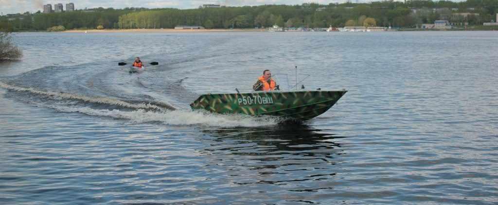 Лодка «Север 420»