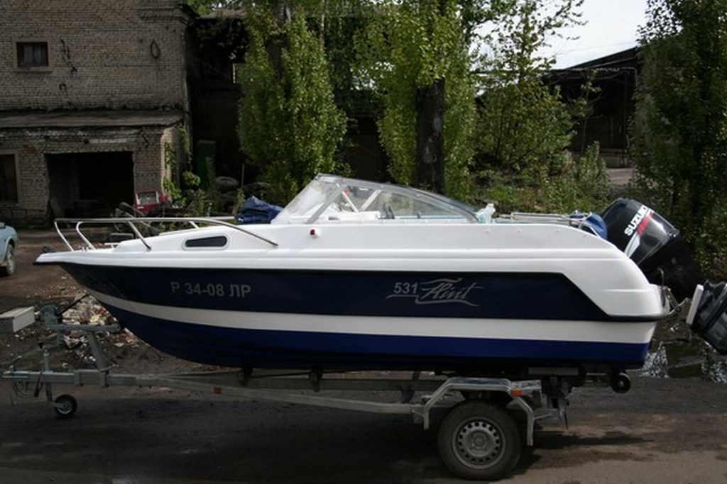 Характеристики катера Флинт 531