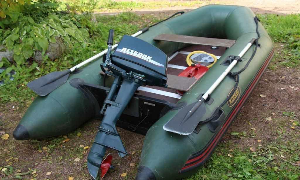 Лодочный мотор «Ветерок-8»