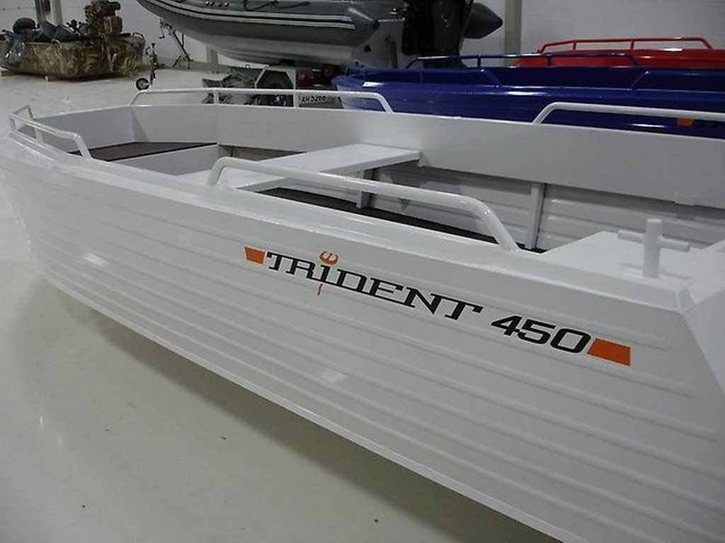 Мотолодка Trident 450