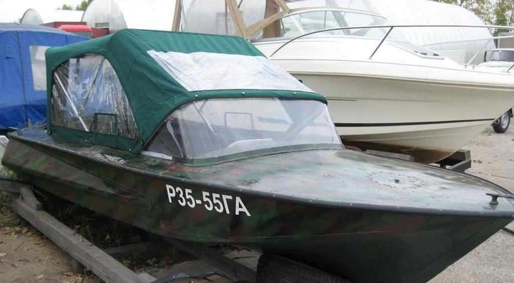 Мотолодка «Обь-2»