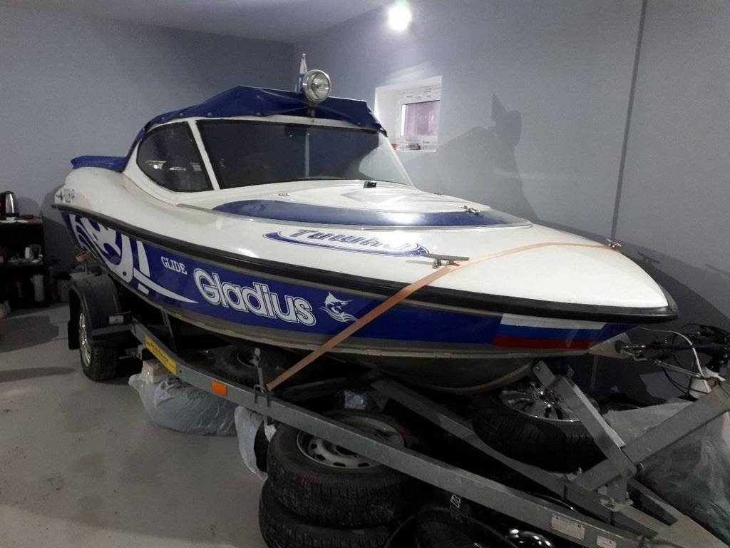 Лодка Gladius Glide 460