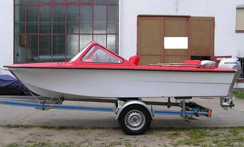 Лодка «Тренер»
