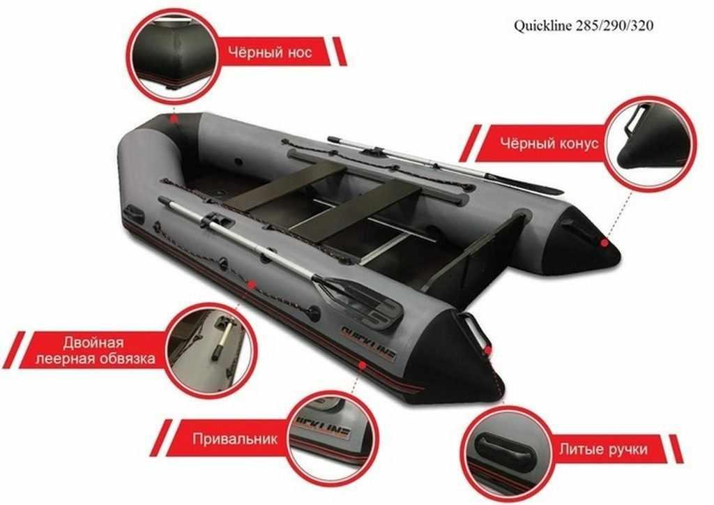 Лодки Qquickline