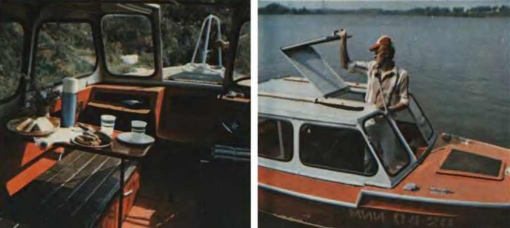Моторная лодка Вишера