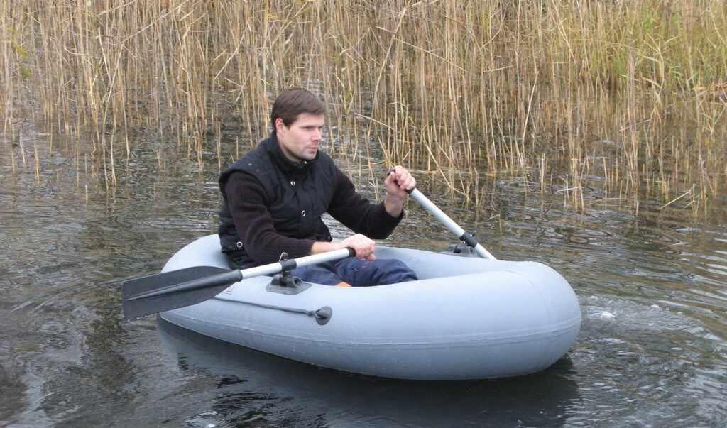 Резиновая лодка Ёрш