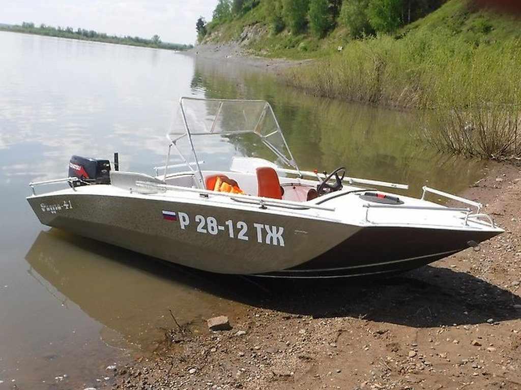 Лодка Радуга 41
