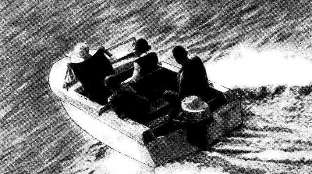 Фото лодки Ока-1