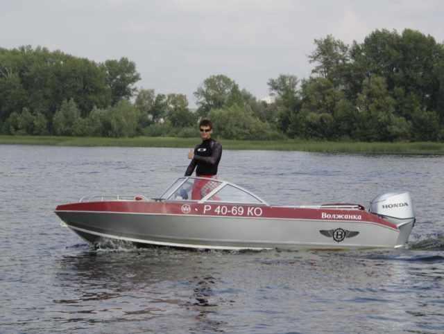 моторная лодка Волжанка Классик