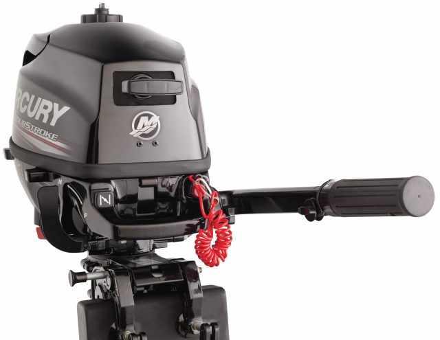 Лодочные моторы mercury - маркировка моделей и характеристики