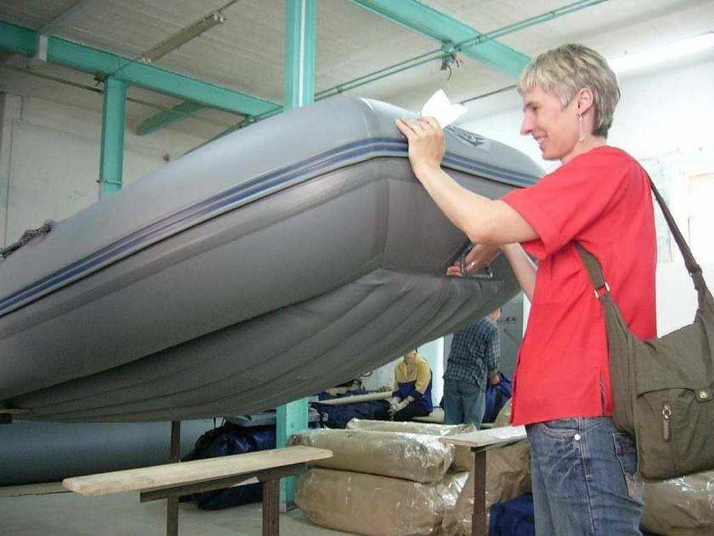 Надувная лодка Quickline 320