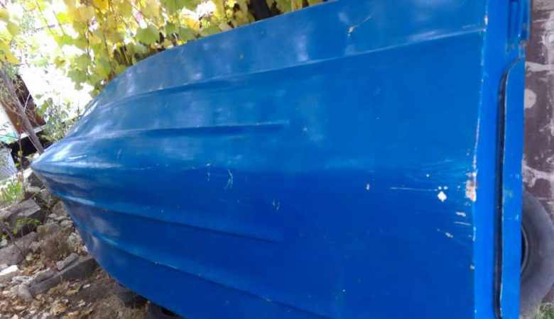 Днище лодки Ладога