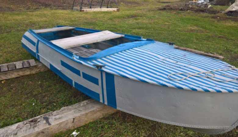 Лодка Казанка