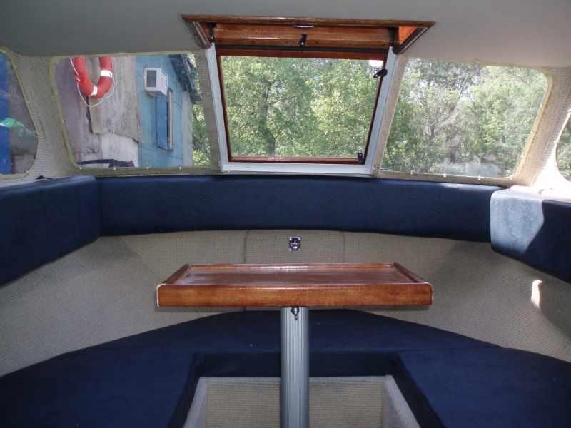 каюта лодки Москва 2