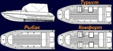 Схематический чертеж Казанка 5м7