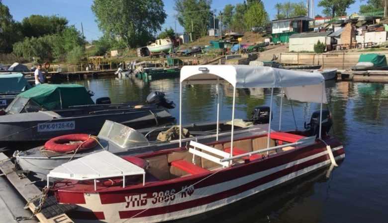 Прогулочный вариант лодки Казанка