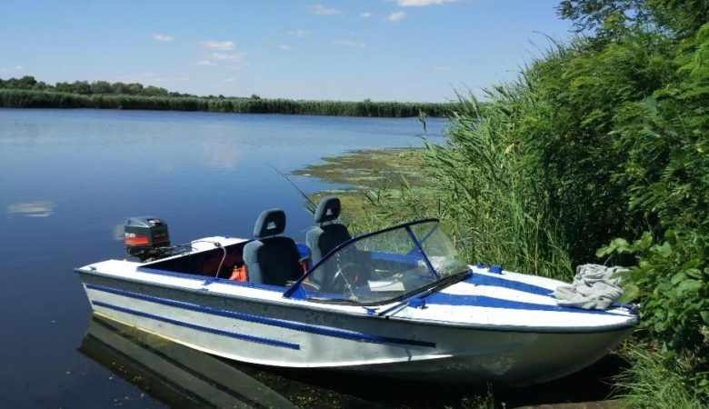Тюнинг лодки Днепр
