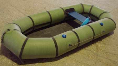 Конструкция резиновой лодки Ветерок 1