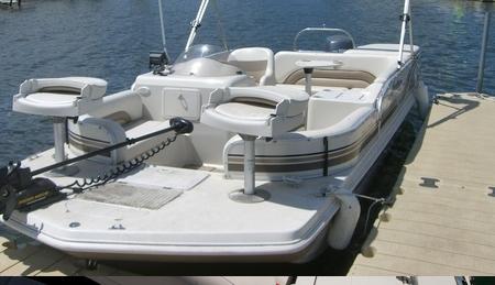Лодки Deckboat (Deck Boat) для рыбалки