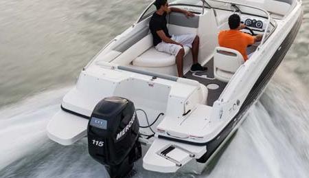 Лодки Deckboat (Deck Boat) с подвесным лодочным мотором