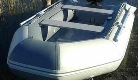 Кокпит надувной лодки «Badger CL 300»