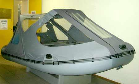 Тент надувной лодки «Антей 380»