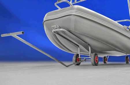 Носовая тележка для перевозки лодки