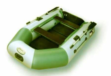 Лодка Оникс 280 со складной сланью