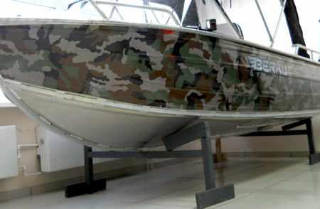 Корпус лодки «Беркут S»