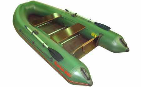 Компоновка надувной лодки CatFish 310