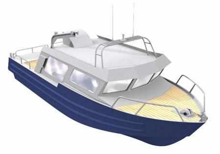 Компоновка катера «Аляска 275»