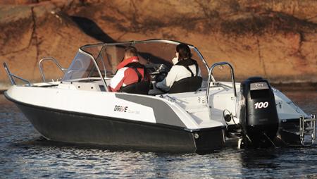 Моторная лодка «Drive Open 56»