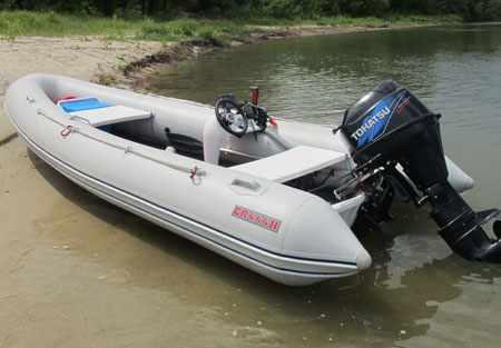 Конструкция лодки-РИБ «Кондор CR-444»