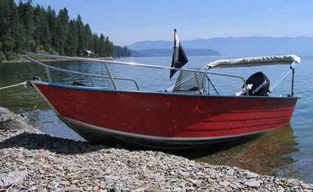 Лодка «Quickline 450»