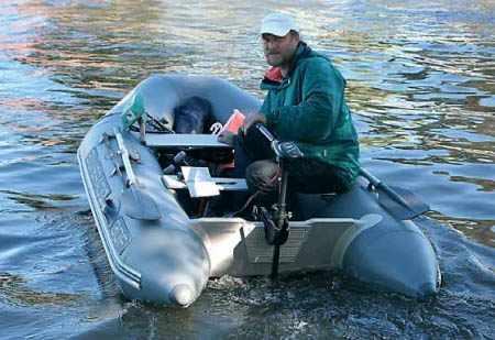 ПВХ лодка «Silverado 30F» с электромотором