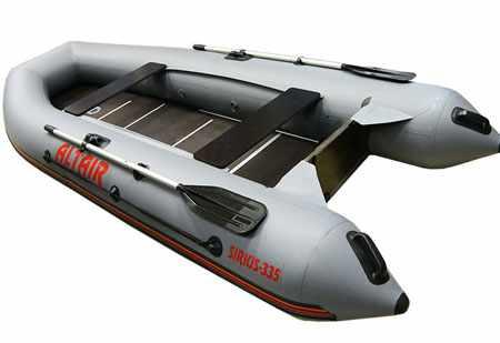 Компоновка надувной лодки «Sirius 335»