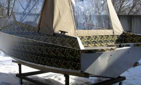 Корма лодки Vortex 510