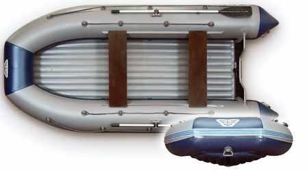 Конструкция лодки «Флагман 420»