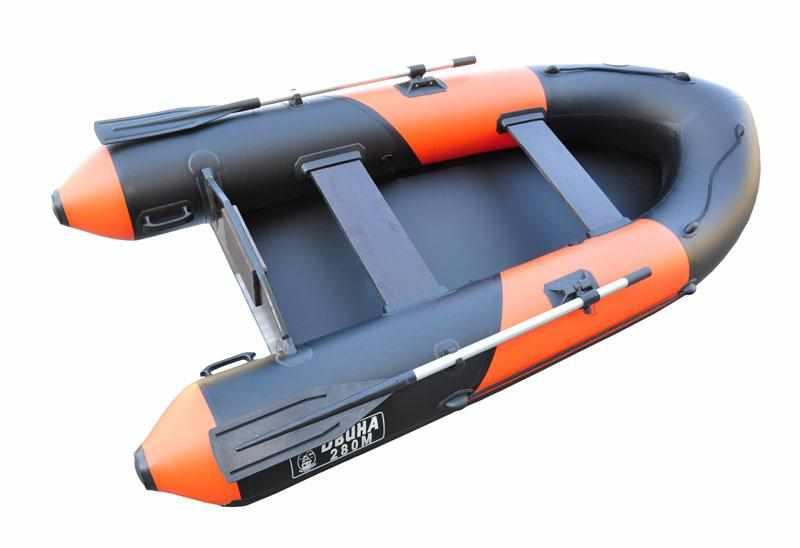 Компоновка надувной лодки «Двина 280»