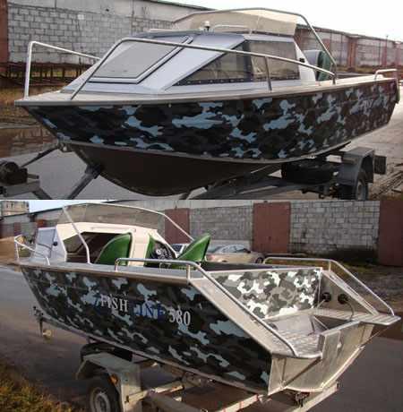 Конструкция лодки «Fishline 570»