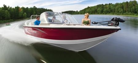 Лодка «Crestliner 1850 Sportfish»