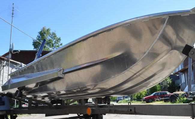 Днище лодки «Абрис 350»